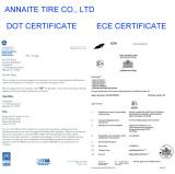 tire certificates