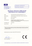 Roll Forming Machine CE Certificate