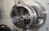 CNC controlled horizontal gun drilling