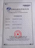 Certification for Safe Transport of Chemical Goods