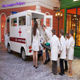 Mini Electric Ambulance for kids In Ukraine