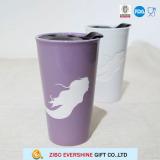 350ml Colored Ceramic Travel Mug