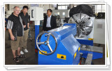 Australian Customer Visit our Company for Purchasing CNC Lathe Machine
