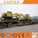 Algeria--2 units 4.5t mini excavator