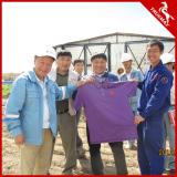 Truemax Service Engineer share Truemax T-shirt with clients