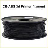 Black color CE-ABS 3d printer filament