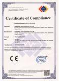 CE Certificate of remote control