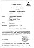 Air Hammer CE certificate