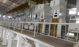 Huanhai Machinery Company 200TPD complete rice mill start working in Uganda