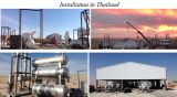15Ton pyrolysis plants running in Thailand