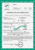 CE certificate--Tire recycling production line