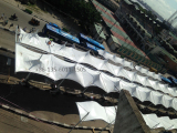 Project At Nigeria TBS Stataion Shading Tent