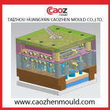 24 cavity plastic spoon mould design from taizhou huangyan caozhen mould co.,ltd