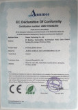 RoHS Certificate of Proximity Switch Sensors and Photoelectric Switch Sensors
