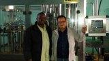 King Machine Engineer and customer in Zimbabwe