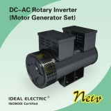New Electric Power DC to AC Rotary Inverter ( Motor Generator Set)