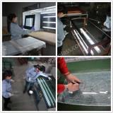 Silk screen printed glass