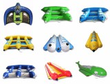 inflatable banana boat /PVC Tarpaulin Inflatable Flying Fish boat