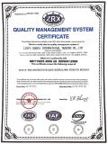 ISO certified supplier