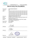 MSDS Certification
