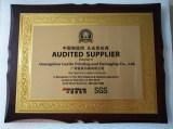 Audited supplier Award