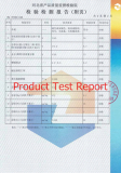 Product Test Report