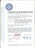 ISO 14001 Certificate of Registration