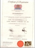 ISO certificate in Chinese