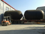 3.3*6.5 M Rubber Fenders Without Tires and Chains Are Ready to Be Shipped to Zhejiang