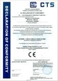 CE certificate for TGB1-63 MCB