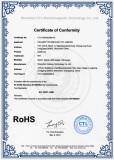 RoHs Certificate of Earphone
