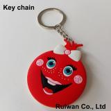 custom soft pvc keychain