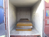 Checkered Steel Plate Exported