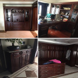 cherry wood furniture integrated wood home decoration