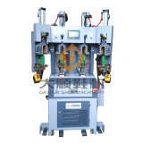 new model Hot & Cold Air-Type Back Part Molding Machine