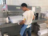 Die cutting machine- making a paper bag