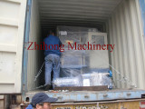 Loading rubber injection molding machine