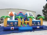 Inflatable under sea playground