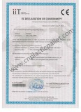 EN840 Certificate