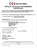 Face Mask CE Certificate