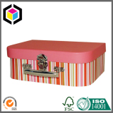 Metal Lock Color Print Cardboard Suitable Gift Box