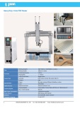 Heavy Duty 4 Axis CNC Router