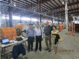 with customer in their workshop [Dec 09,2014]