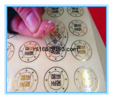 Classification of self adhesive labels on the market