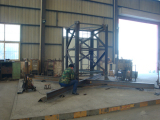 Erecting mast sections