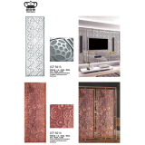 Carving Art Room Divider Panel