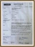 NEMKO Certificate