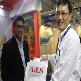 a&S Machinery - 2015 EXCON Stall #908 in Bangalore in India