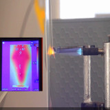 Thermal Imager test 2MM Phase Change Inhibited heat sink