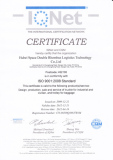 ISO 9001:2008 Quality Control system certificate